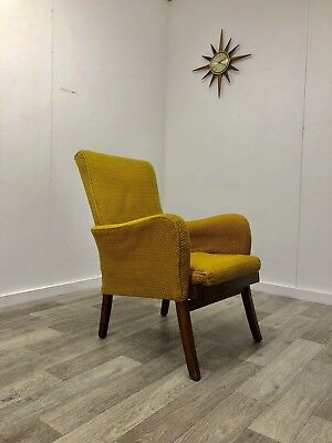 Mid Century Armchair Arm Chair Retro Vintage Quirky Funky.