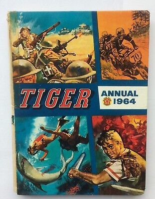 Tiger Annual 1964 - Fleetway Publications Limited - Laminated hardback