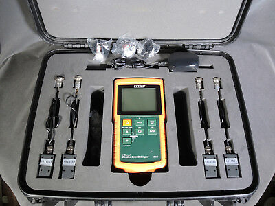 Excellent Extech Handheld VB500  4-Channel Vibration Meter/Datalogger, 4 Sensors