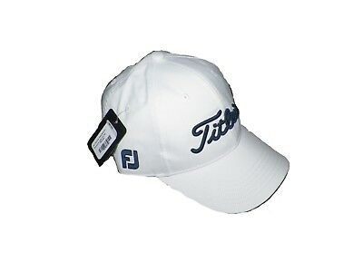 New Titleist Junior Tour Performance White Navy Adjustable Hat Cap be86ded84bb