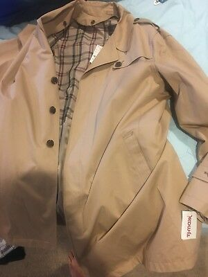 Brooks Brothers Trench Coat Size 48r