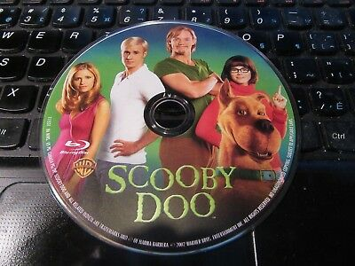 BLU-RAY // Scooby-Doo-The Movie  Sarah Michelle Gellar,Freddie Prinze disc only