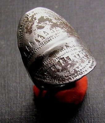 Ancient SILVER Viking Twisted Ring. RARE!