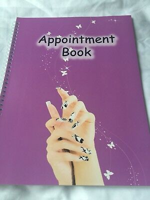 4 Columns Appointment Book For Salon & Spa