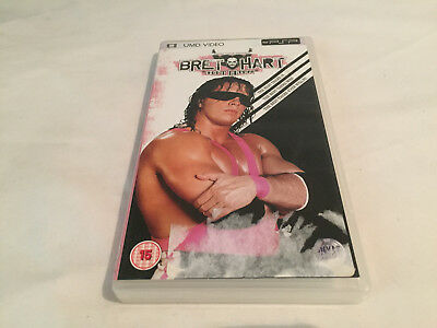BRET THE HITMAN HART PSP Umd Film Video