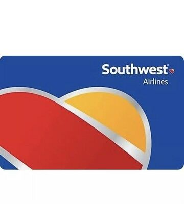 Southwest Airlines Gift card $200.00 - Fast email delivery