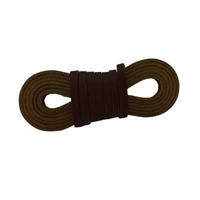 4mm ROUND Genuine LEATHER Boot Shoe LACES Lace lacing Shoelace Bootlace RATS BUM