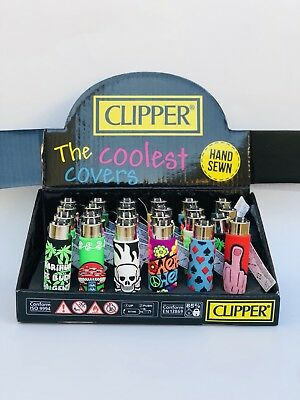 Clipper The Coolest Cover Hand Sewn Lighters (Singles)