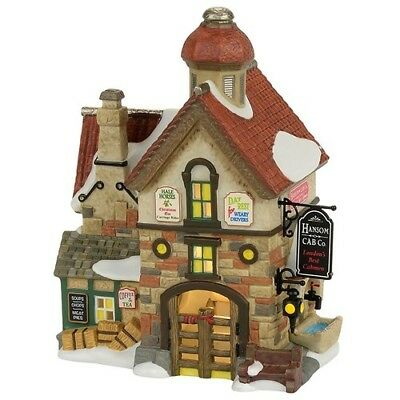 Department 56, Dickens Village,The Hansom Cab Co. - 4056644