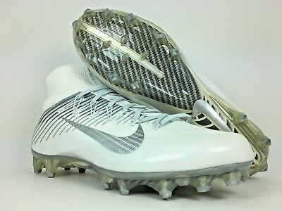 brand new b30e7 997ed Nike Vapor Untouchable 2 Football Cleats White Metallic Silver TD   824470-100