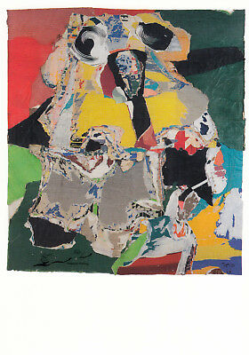 Postkarte: Asger Jorn - Abstraction faite d`un tas de choses