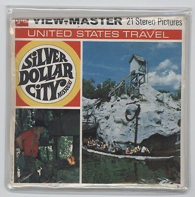 View-Master A457 SILVER DOLLAR CITY MISSOURI  Sealed Unopened  *Free Shipping*