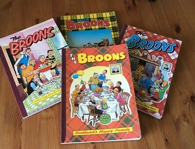 4 The Broons annuals - various years