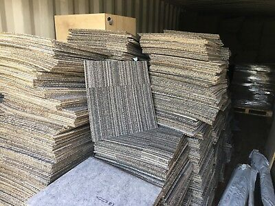 Used Miliken Carpet Tiles Birmingham Collection Or Delivery - 1900 Available