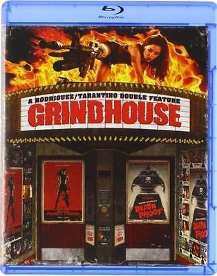 New! Grindhouse on Blu-ray - Planet Terror + Deathproof Tarantino Rodriguez