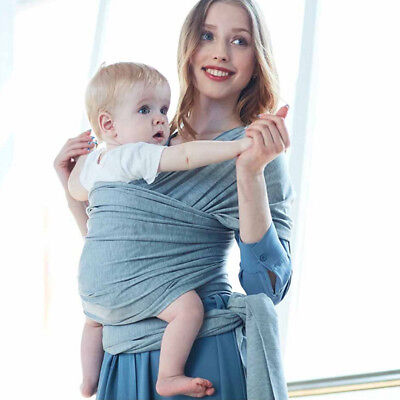 Baby Sling Stretchy Carrier Newborn Infant Wrap Breathable Hip Seat