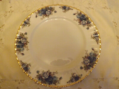1 Royal Albert Moonlight rose large dinner plate 1st & perfect (5 more available
