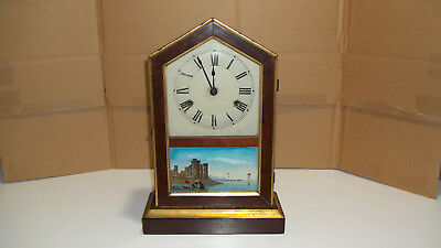 Jerome & Co. Eight Day Cottage Clock