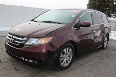 2014 Honda Odyssey EX-L 2014 Honda Odyssey EX-L Salvage Wrecked Repairable! Priced To Sell! Wont Last!!!