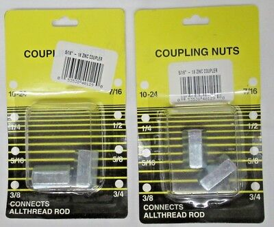 """Boltmaster Coupling Nut 3//8/""""-16"""