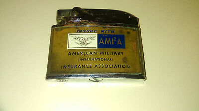 "Vintage Howard  Lighter ""american Military International Insurance Association"""