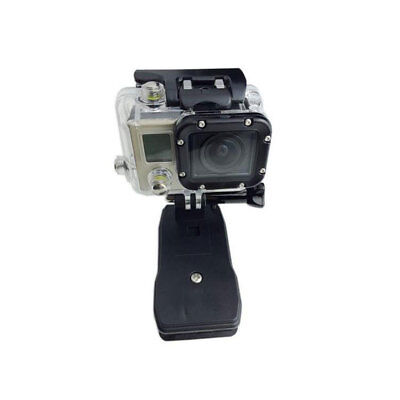 360° Backpack Rotary Hat Rec-Mounts Clip Clamp Mount for GoPro Hero 2 3+ 4 S