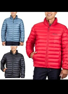 19e08530099be ORIGINAL MARMOT ARES 600 fill Down Jacket Man's Large Port/Team Red ...