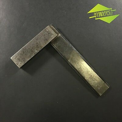 """Awesome Vintage Russian-Made Engineer's 6"""" Bevelled Square Metalwork Woodwork"""