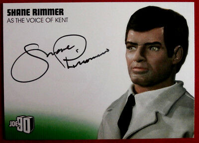 JOE 90 - SHANE RIMMER as Kent, Autograph Card SR2 GERRY ANDERSON COLLECTION 2017