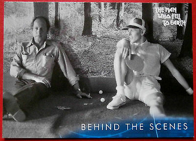 DAVID BOWIE - The Man Who Fell To Earth - Card #51 - Behind The Scenes