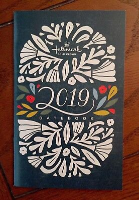 Brand New ~ 2019 Hallmark Datebook 14 Month Calendar ~ Pocket Date Book