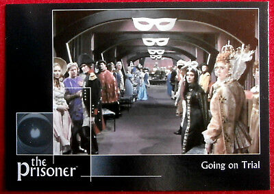 THE PRISONER Autograph Series - Vol 1 - GOING ON TRIAL - Card #51 Cards Inc 2002
