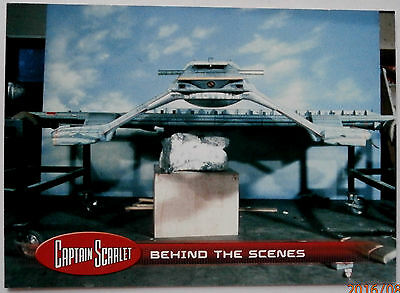 CAPTAIN SCARLET - Individual Trading Card #51, Behind The Scenes - Unstoppable