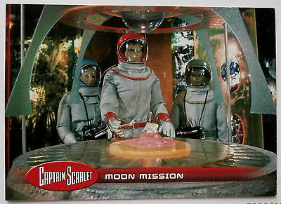 CAPTAIN SCARLET - Individual Trading Card #18, Moon Mission - Unstoppable 2015