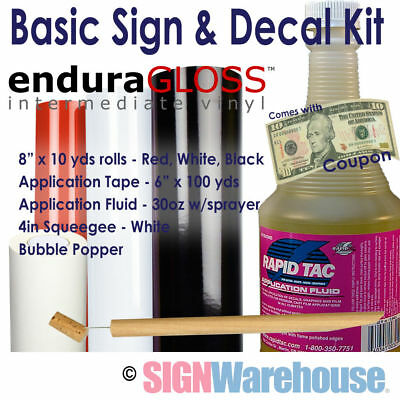 Sign & Decal Starter Kit for Vinyl Plotters Cutters Vinly Machine Signwarehouse
