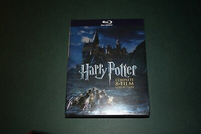 NEW Blu-Ray Harry Potter Complete 8-Film Collection (8-Disc Set)  Region 1