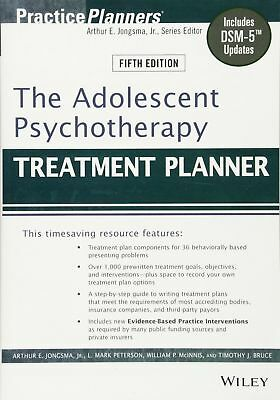The Adolescent Psychotherapy Treatment Planner 5th Edition (PDF,EPUB) 🔐 Instant