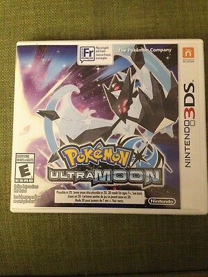 Nintendo 3DS Pokemon Games - Ultra Moon and Y... You Pick!