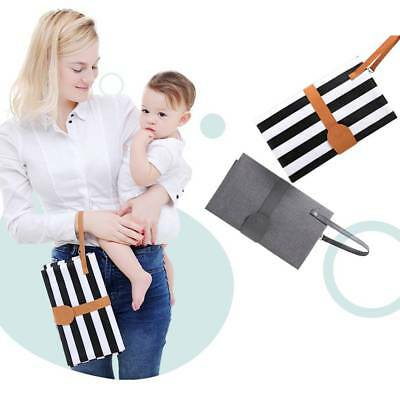 Waterproof Baby Changing Mat Portable Nappy Diaper Pad Cover Bag Infant Travel