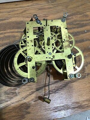 Session Clock Co. Forestville Mantle Table Shelf Wall Clock Movement
