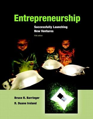 Entrepreneurship Successfully Launching New Ventures 5th Edition by Bruce (PDF)