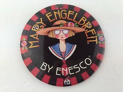Enesco Mary Engelbreit Large Button Pin Pinback 1998 3.5""