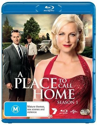 A Place To Call Home : Season 1 (Blu-ray, 2013, 3-Disc Set) - GREAT SERIES
