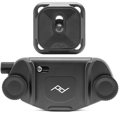 Peak Design Capture Clip -v3 Incl. Standard Plate Black