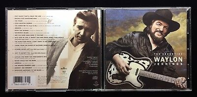 Waylon Jennings / Essential Collection Greatest Hits Audio Disc / Music Cd