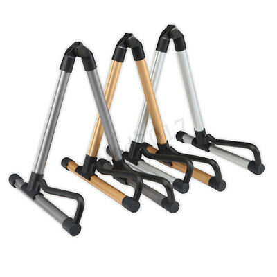 Folding Guitar Floor Stand Holder A Frame Universal Fit Acoustic Electric Bass