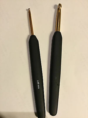 KnitPro Soft Touch Crochet Hooks  - .5mm to 12mm Great Value!