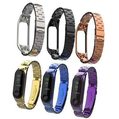 Mi Band 3 Wrist Strap For Xiaomi Mi Band 3 Screwless Stainless Steel Bracelet