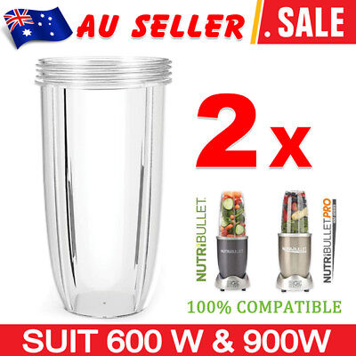 AU 1/2 X NUTRIBULLET COLOSSAL BIG TALL CUP 32 Oz - Nutri Bullet 600 & 900 Models
