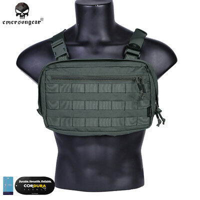 Emerson Tatcical Bag Military Bag Chest Recon Bag Chest Rig Airsoft Hunting Army